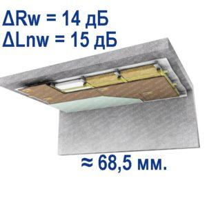 потолок стандарт п - 2
